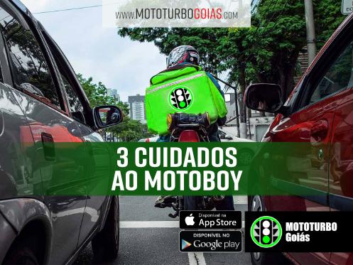 3 Cuidados ao Motoboy