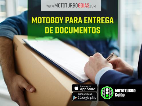 Motoboy para Entrega de Documentos